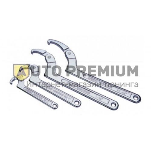 Ключ серповидный со штифтом 112-156мм «Licota» AWT-HK024.